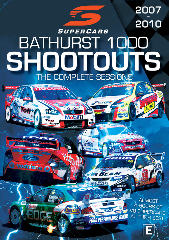 Supercars Bathurst 1000 Shoot Outs: The Complete Session 2007 To 2010 on DVD