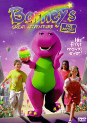 Barney's Great Adventure - The Movie on DVD