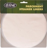 Parchment Steamer Liners - 20 Pack