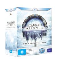 Stargate Atlantis - The Complete Series Box Set on Blu-ray
