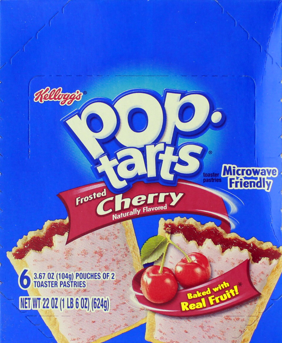 Kellogg's Pop Tarts Frosted Cherry image