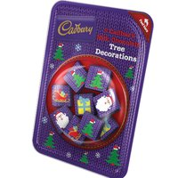 Cadbury Milk Chocolate Tree Decorations (84g)