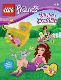Lego Friends: Olivia's Great Idea (Activity Book #1) by Scholastic Inc