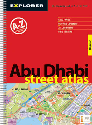Abu Dhabi Street Atlas ( Regular ): Auh_atr_1 by Explorer Publishing and Distribution image