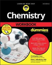 Chemistry Workbook For Dummies by Chris Hren