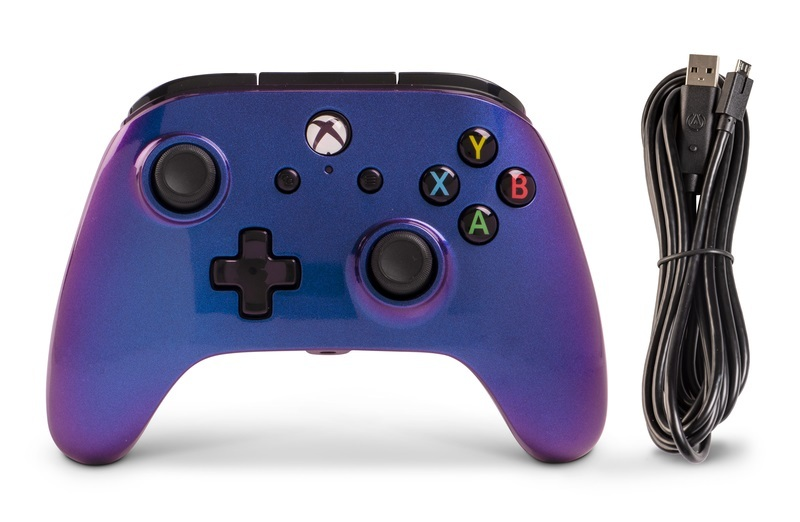 Xbox One Enhanced Wired Controller - Nebula for Xbox One image
