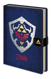 Legend of Zelda Premium A5 Notebook - Hylian Shield