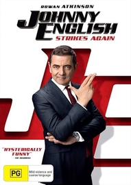 Johnny English Strikes Again on DVD
