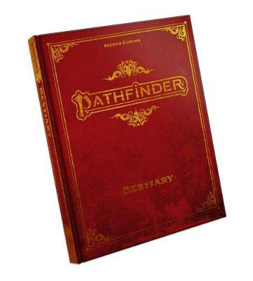 Pathfinder RPG: Bestiary Hardcover Special Edition (2nd Edition) by Paizo Staff