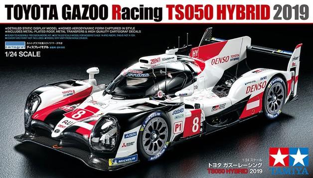 Tamiya 1/24 Toyota Gazoo Racing TS050 HYBRID 2019 - Model Kit