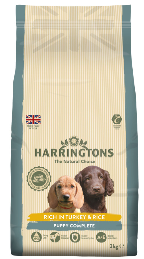 Harringtons: PUPPY Food Turkey & Rice image