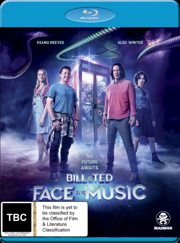 Bill & Ted Face The Music on Blu-ray