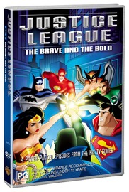 Justice League - The Brave And The Bold on DVD