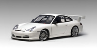 AUTOart 1:18 Porsche 911 Carrera Cup Plain Body Version (White) Diecast Model