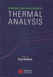 Principles and Applications of Thermal Analysis image