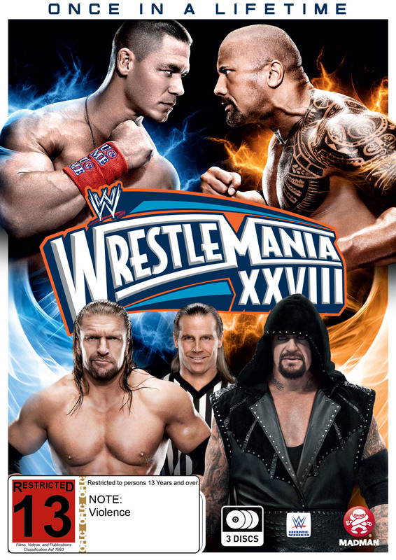WWE WrestleMania XXVIII (3 Disc Collectors Edition) on DVD