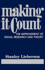 Making It Count by Stanley Lieberson image