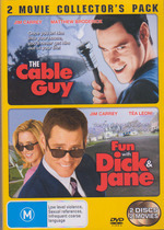 Cable Guy, The / Fun With Dick And Jane (2005) - 2 Movie Collector's Pack (2 Disc Set) on DVD