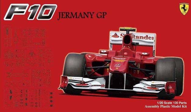 Fujimi: 1/20 Ferrari F10 (German Grand Prix) - Model Kit