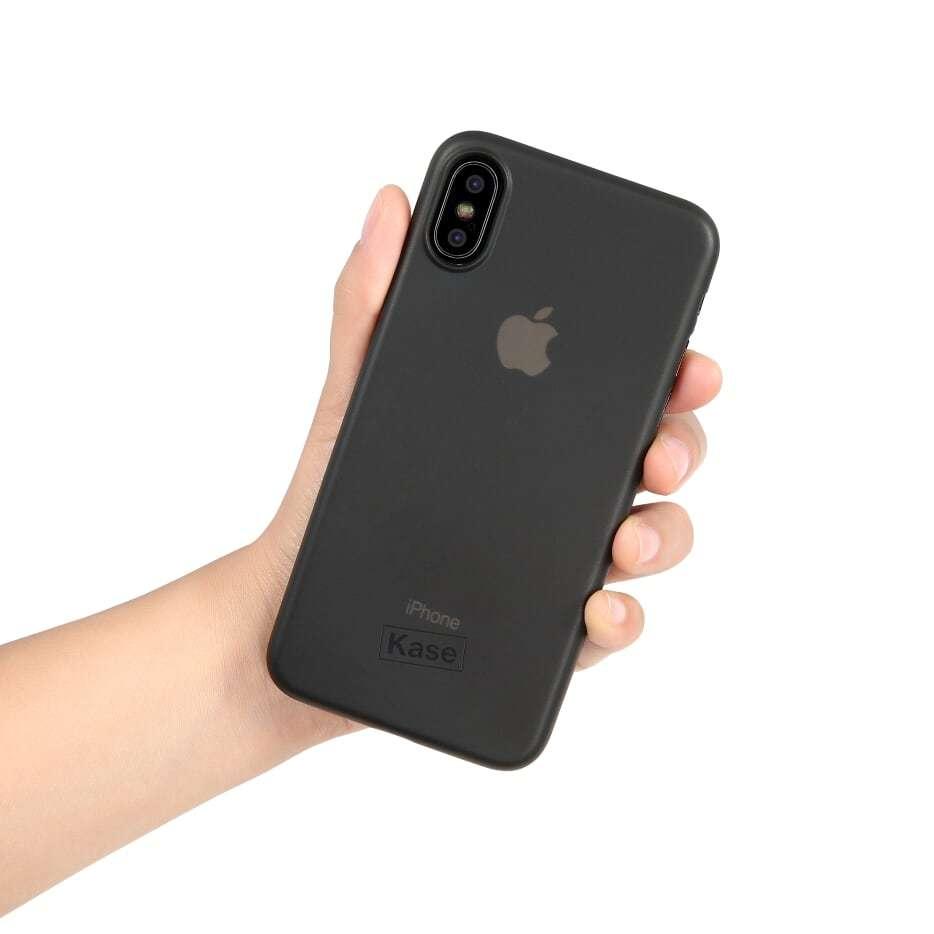 Kase Go Original iPhone X Slim Case- Black Sheep image