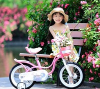"RoyalBaby: Little Swan RB-18 - 14"" Bike (Pink) image"