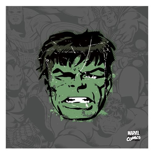 Hulk Distressed Canvas Print