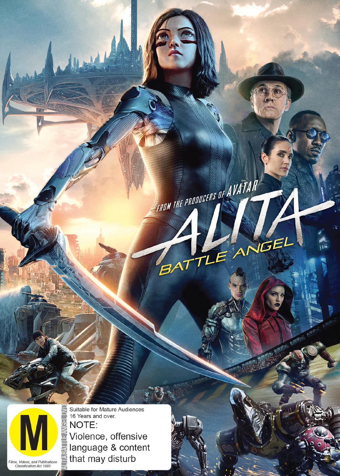 Alita: Battle Angel on DVD image