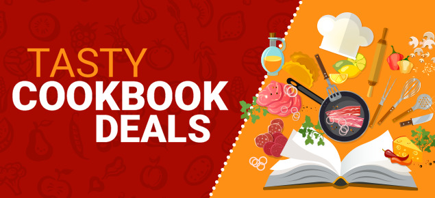 Tasty Cookbook Deals!