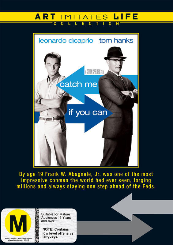 Catch Me If You Can (Art Imitates Life Collection) on DVD