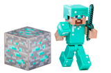 Minecraft Diamond Steve With Accessory Figure Series 2
