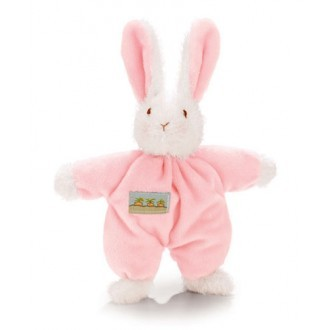 Sweet Hops Bunny Rattle - Pink image