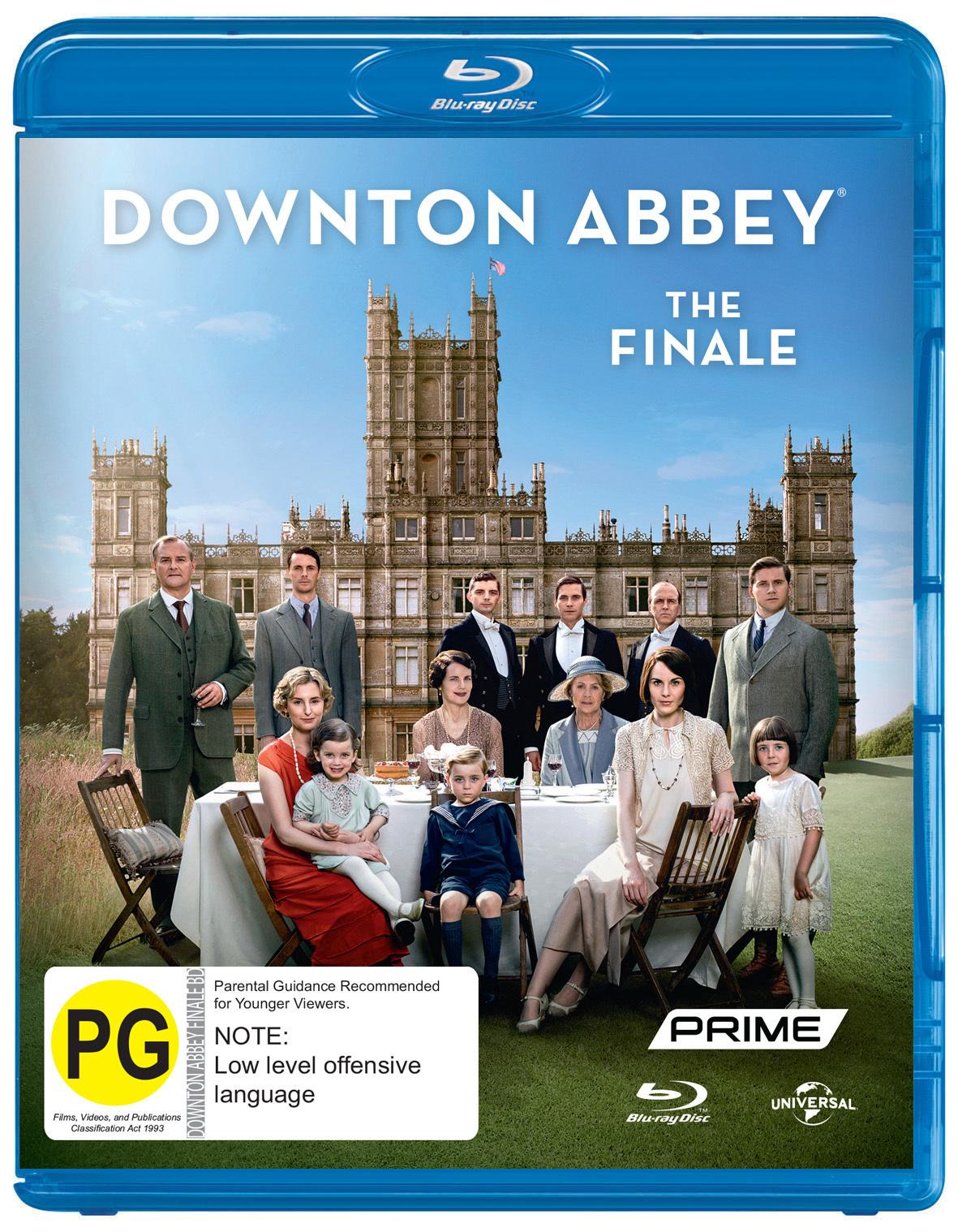 Downton Abbey: Christmas 2015 - Final Episode on Blu-ray image