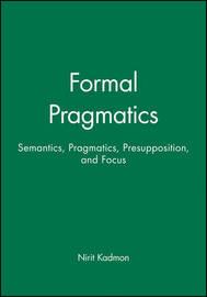 Formal Pragmatics by Nirit Kadmon image