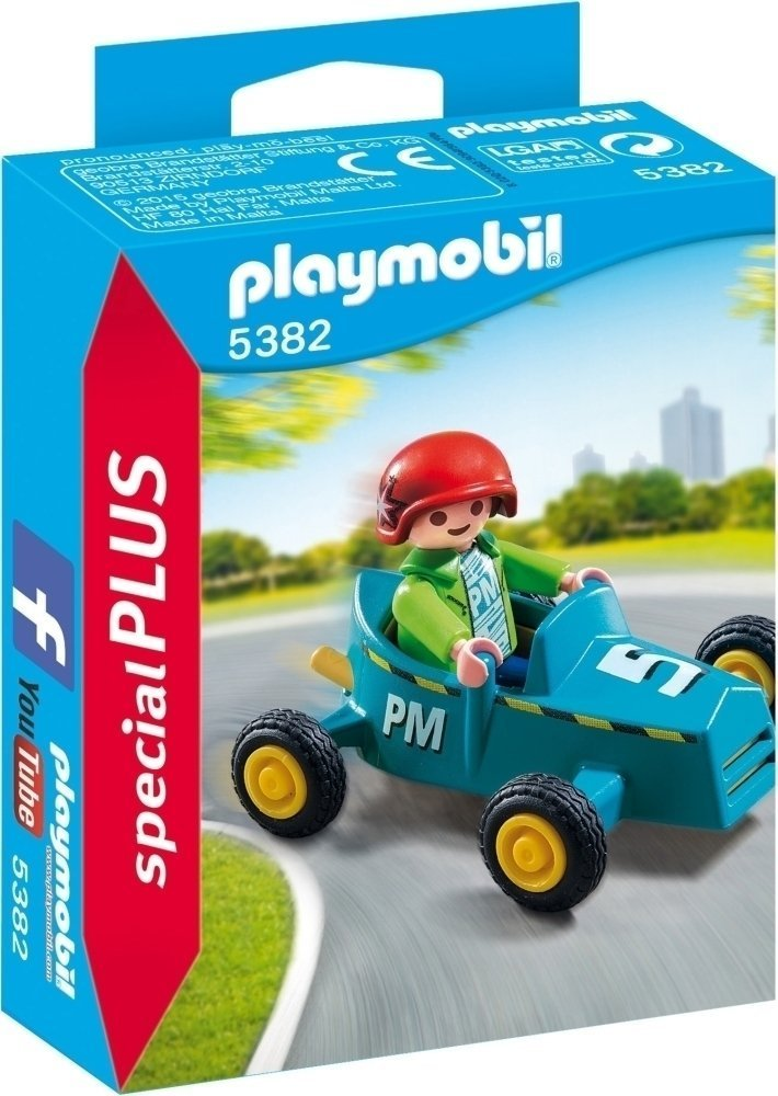 Playmobil: Special Plus - Boy with Go Kart image