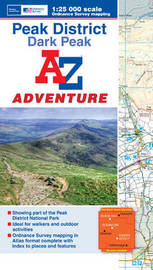 Dark Peak Adventure Atlas by Geographers A-Z Map Company