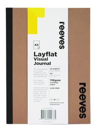 Reeves: A5 Layflat Visual Journal - Kraft Cover