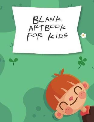 Blank Art Book For Kids by Blue Elephant Books image