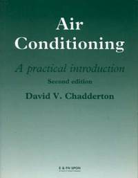 Air Conditioning: A Practical Introduction by David V. Chadderton image