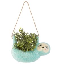 Seymour Sloth Hanging Planter image