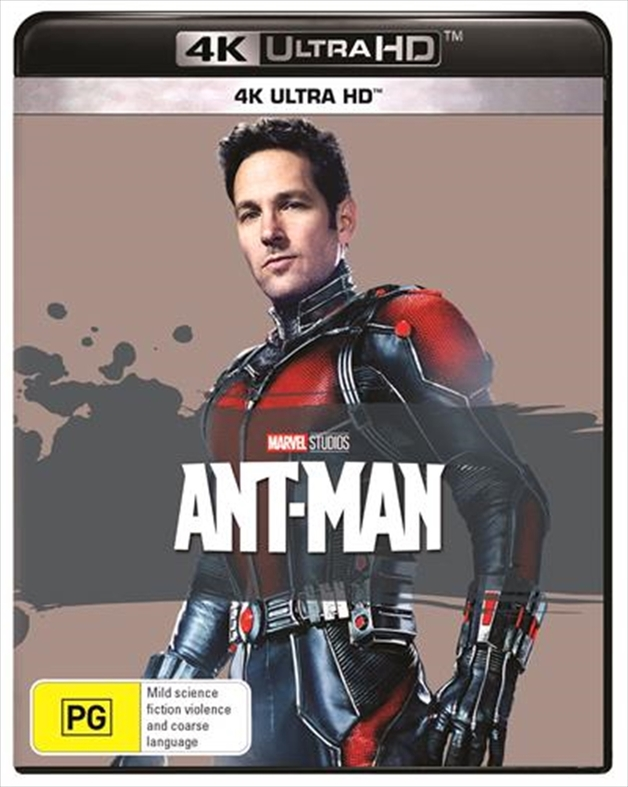 Ant-Man (4K UHD) on UHD Blu-ray