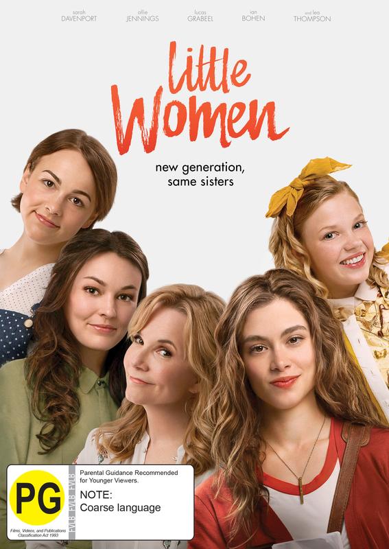 Little Women (2018) on DVD