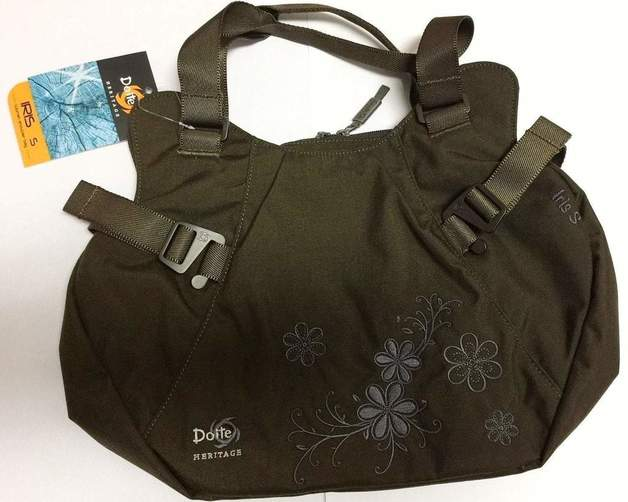 Doite Iris Shoulder Bag - Medium (Black)