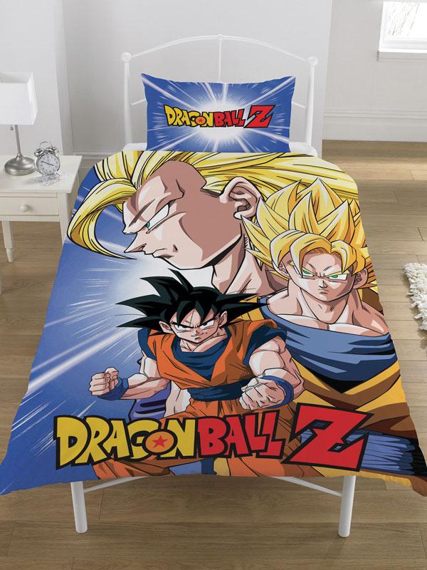 Dragon Ball Z Battle Single Duvet Cover Set