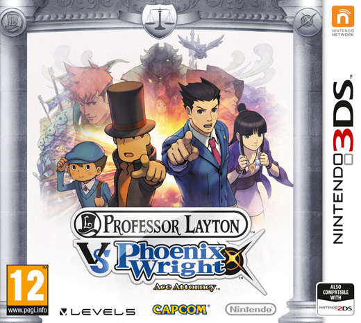 Professor Layton vs. Phoenix Wright: Ace Attorney for 3DS