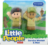 Fisher-Price: Little People - Service Woman & Man