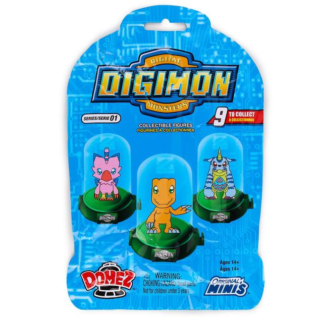 Domez: Digimon (Classic Series #1) - Mini Figure (Blind Bag)