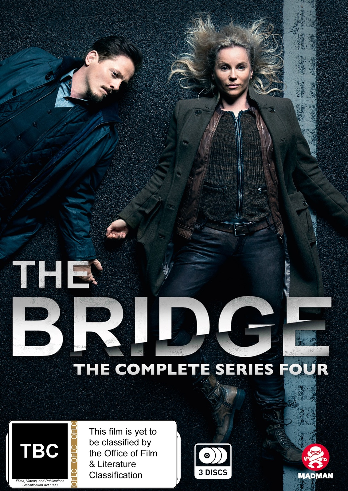 The Bridge - The Complete Series Four on DVD image