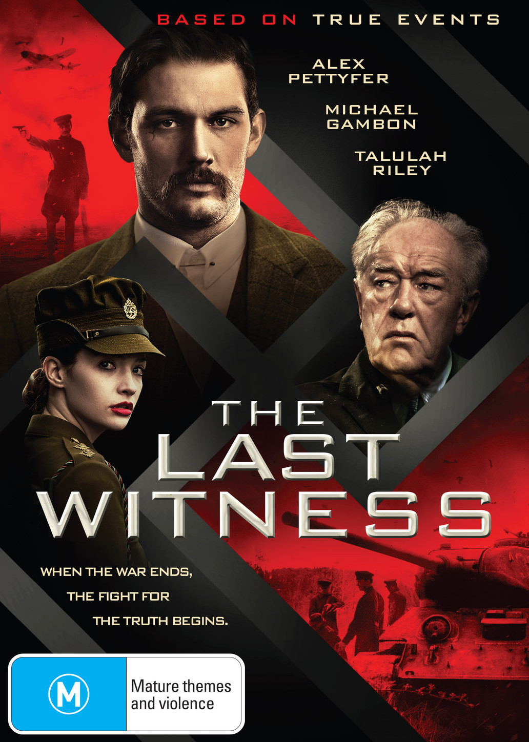 The Last Witness on DVD image