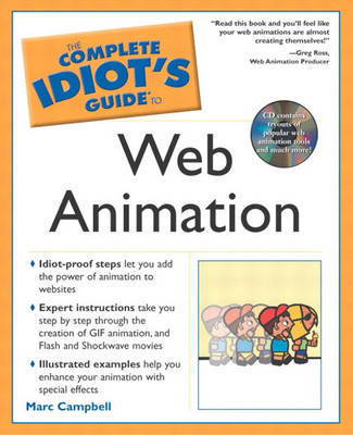 The Complete Idiot's Guide to Web Animation by Marc Campbell image
