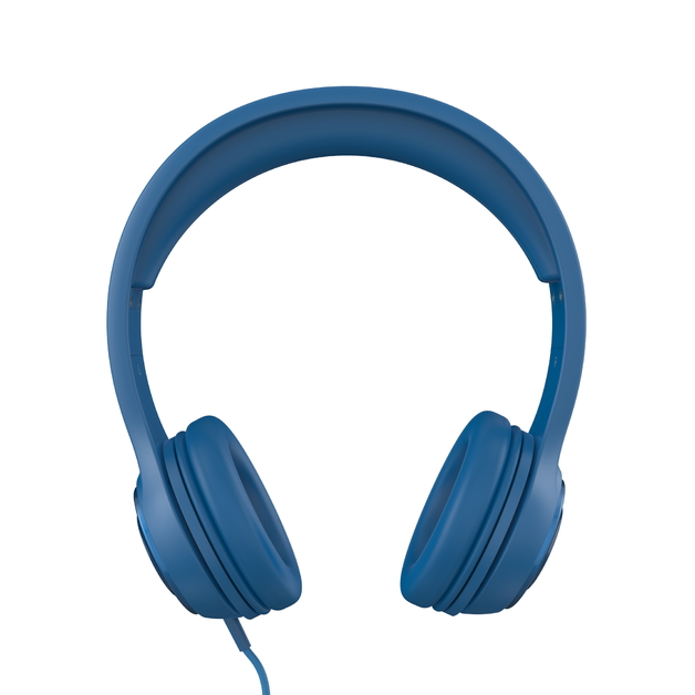 iFrogz: Aurora Wired Headphones with Mic - Blue